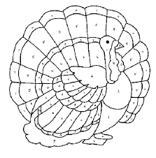 Small Picture Thanksgiving Coloring Pages By Number Coloring Page Coloring