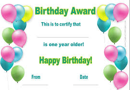 free happy birthday template free happy birthday certificate template customize online