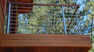 Types of deck railings Black Before Choosing Your Pattern First It Is Advisable To Have Proper Idea About The Material You Prefer To Choose As There Are Several Types Of Materials Deck Railing Services Wordpresscom Cable Railing Deck Railing Services