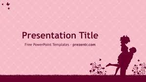 Wedding Powerpoint Template Impressive Free Couple PowerPoint Template Prezentr PPT Templates