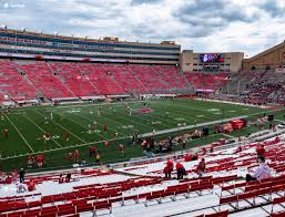 Wisconsin Badger Football Stadium Seating Chart Camp Randall Stadium H Seat Views Seatgeek