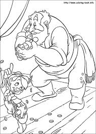 Pinocchio Coloring Pages On