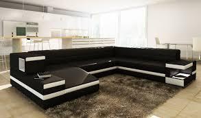 divani casa 1201 modern bonded leather sectional sofa rh vigfurniture com modern bonded leather sectional sofa