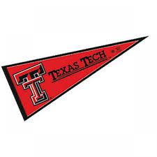 texas tech university pennant