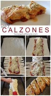 easy home cooked dinner ideas. easy calzones recipe. calzone recipesfun home cooked dinner ideas