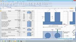 Bollard Design Load Bollard Strength Check Spreadsheet