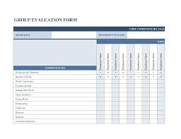 Employee Evaluation Forms Examples 46 Employee Evaluation Forms Performance Review Examples