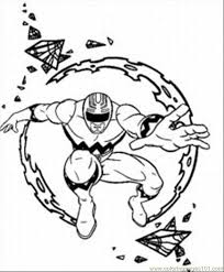 40+ Power Rangers Coloring Pages Jungle Fury Background