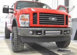 Ford Superduty (2008-2010) Bumper Mount Kit. Holds 20 Inch dual or ...