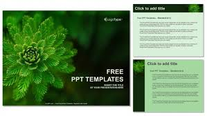 Water Plant-Nature-Powerpoint Templates