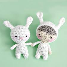 Free Crochet Bunny Pattern Mesmerizing 48 Free Crochet Bunny Amigurumi Patterns DIY Crafts