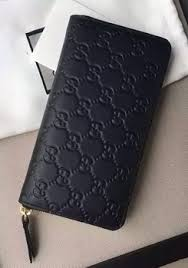 gucci zip around wallet. gucci signature zip around wallet 410102 black