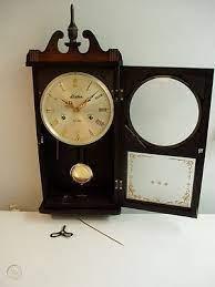 how to repair a pendulum wall clock
