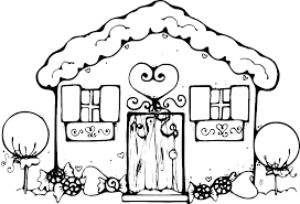 Gingerbread Man Character Printables Gingerbread Man Coloring Page