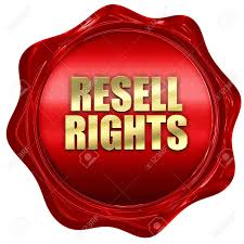 Resell Rights, 3D Rendering, Red Wax Stamp With Text Stock Photo, Picture  And Royalty Free Image. Image 71853435.