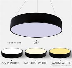 suspension lighting fixtures. Modern Minimalism Led Hanging Lights Suspension Lighting Office Pendant Light Matte Metal Round Pendnat Fixtures Ac85 265v Lamp Shades