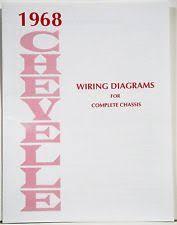 1968 el camino 1968 chevelle el camino wiring diagram