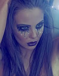 crystal tears amen up idea perhaps for a mermaid or fallen angel fancy dress outfit