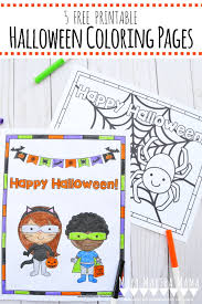 These halloween coloring pages for adults and kids are easy to print and color today! Free Printable Halloween Coloring Pages Mary Martha Mama