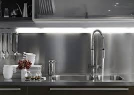 Stainless steel sinks and counters Custom Stainless Steel Full Backsplash Brooks Custom Stainless Steel Counter Tops Door Styles Accessories Steelkitchen