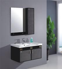 modern single bathroom vanity. Bathroom:Modern Interior Of Bathroom With Wall Single Sink Vanity Modern