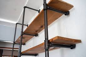 diy pipe shelf an easy budget friendly addition to any room