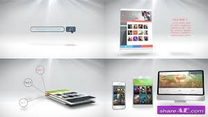 Free Website Presentation After Effects Template Videohive Website