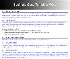 Sample Business Case Templates Rome Fontanacountryinn Com