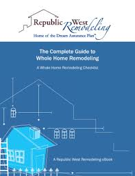 Printable Whole House Renovation Checklist Fill Out Download Top