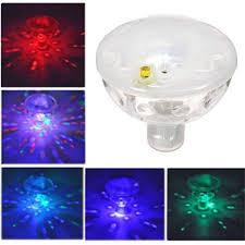 Baby Bath Disco Lights Amazon Com Waterproof Underwater Floating Led Lamp Colorful