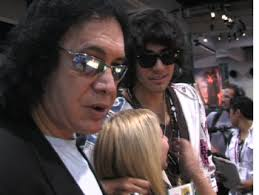 gene simmons son tongue. gene simmons son tongue gene simmons and nick. g