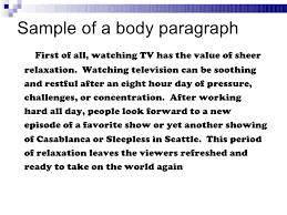 para essay structure 10