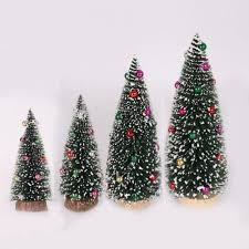 Lovely Cute Artificial Tabletop Mini Christmas Tree Decorations Home Office Xmas Decor Increase Festive Atmospherer Cheap Decorations For Christmas