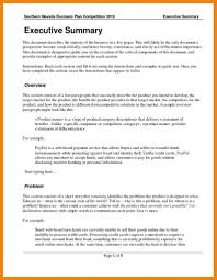Executive Summary Outline 008 Business Plan Executive Summary Template Word 20plan