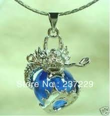 stone gold plated whole free 5pcs wonderful stone dragon pendant necklace ya35