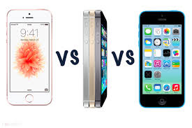 Iphone 5 And Iphone 5c Comparison Chart Apple Iphone Se Vs Iphone 5s Vs Iphone 5c Whats The Differenc