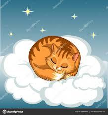 sweet good night cartoon vector ilration vector by mariazotova