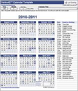 Perpetual Calendar Template Challenge A Pinterest Calendar