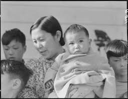 photo essay ese american mothers during wwii   ese mother wife of interned shinto priest youngest of her nine children who are american born she has been in in the united states ten years