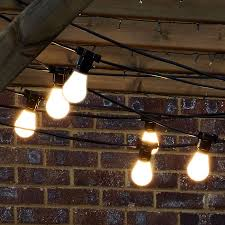 patio lights 10 party string gold