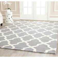 silver ivory safavieh area rugs cam121d 8sq 64 1000 and rug