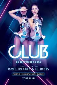club flyer templates club flyers templates 432 best flyer images on pinterest