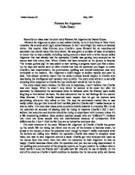 flowers for algernon essay questions thin blog page 1 zoom in