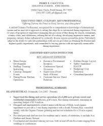 Chef Resume Beauteous 28 Free Chef Resume Samples Sample Resumes