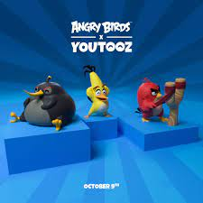 Angry Birds - You too can have one of the limited edition Angry Birds x  YouTooz collectibles! Does Bomb remind you of anyberdy on YouTube?
