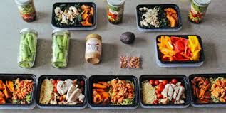 2100 Calorie Diet Chart Piyo Meal Prep For The 1 800 2 100 Calorie Level The