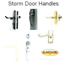 Pella Storm Door Handle Lock Body Locks Replacement Handles Mortise Broken