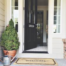 front door with sidelightDo You Have Front Door Sidelights Try this trick   Jones