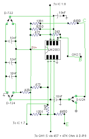 tracing the printed circuits in the idm this particular circuit is part of how the idm monitors injector current draw to determine whether the injector solenoid or wiring is shorted or open