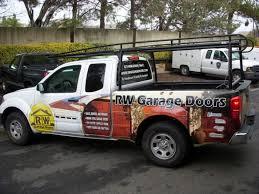 rw garage doorsRW Garage Doors  Partial Vehicle Wrap  Sign Anatomy